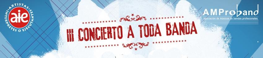 """III CONCIERTO """"A TODA BANDA"""" – PROGRAMA DE MANO"""