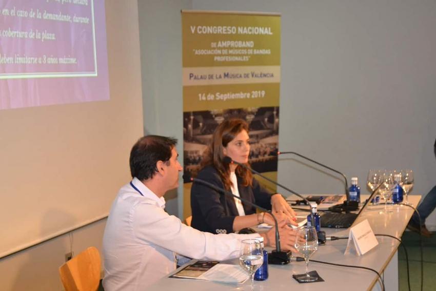 V CONGRESO AMProBand: ponencia de Dña. Beatriz González