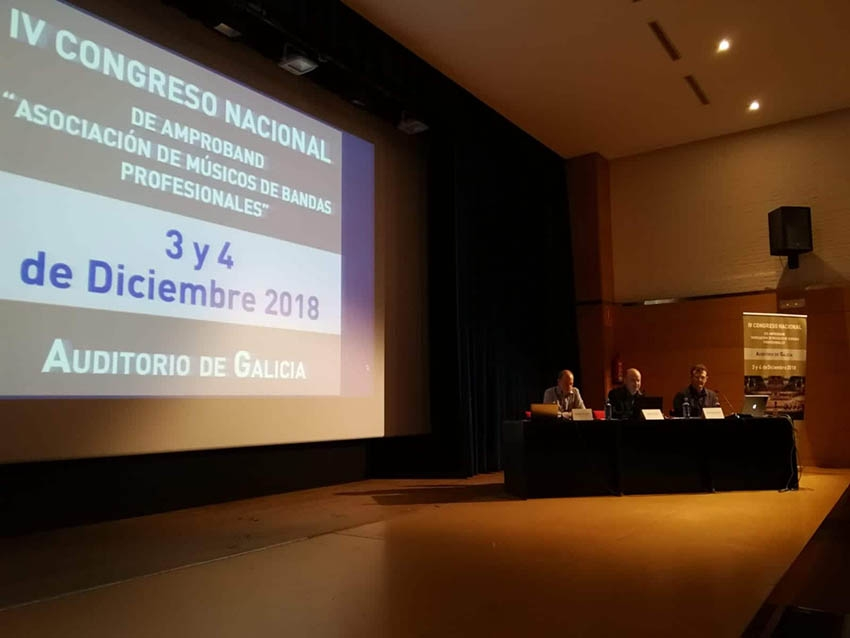 ÉXITO en el IV CONGRESO NACIONAL de Amproband en Galicia