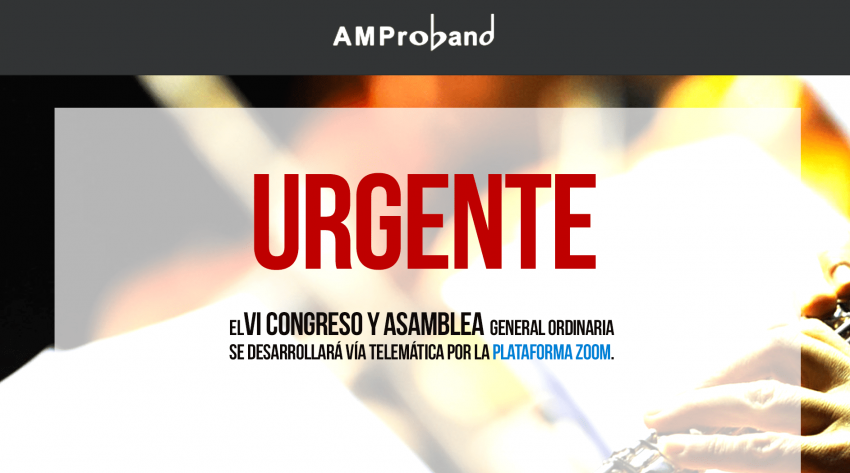 IMPORTANTE: VI CONGRESO Y ASAMBLEA GENERAL ORDINARIA